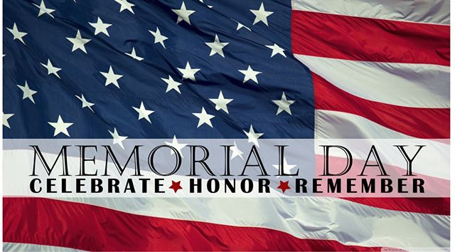 We will be closed today in observance of #MemorialDay so that our staff can honor the heroic men and women who have sacrificed their lives through #military service.