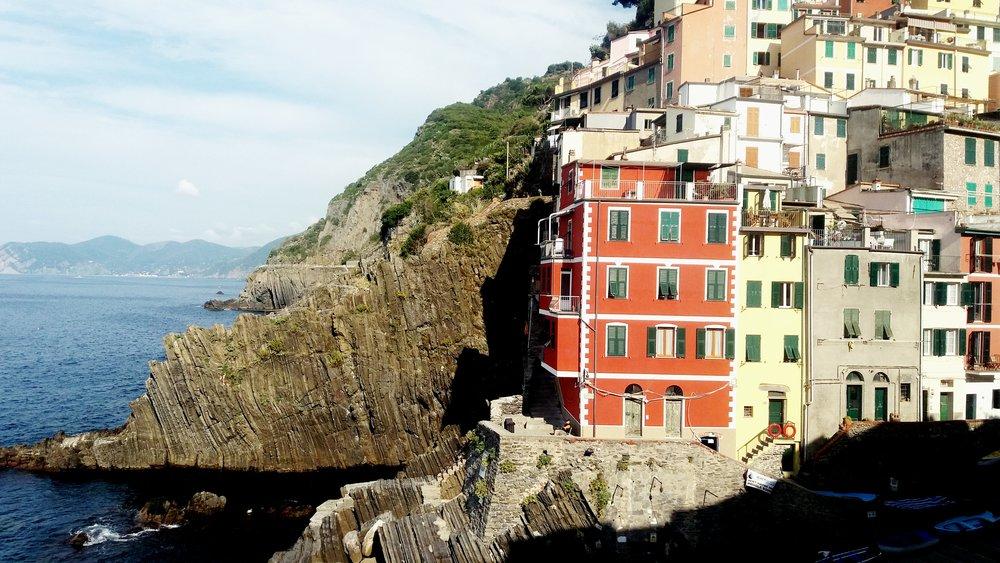 Riomaggiore, Cinque-Terre, Italy.