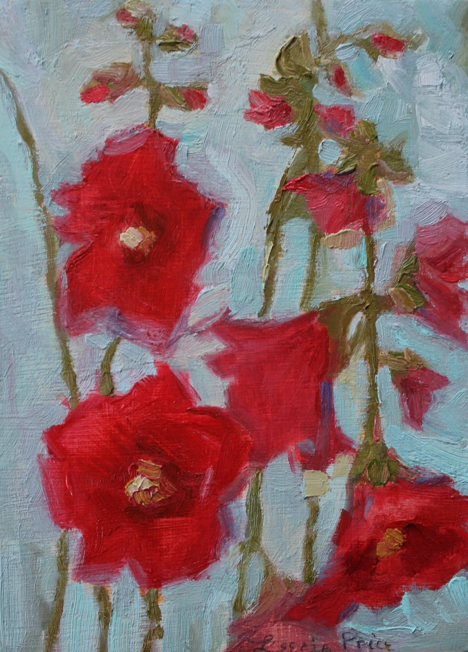 Hollyhock Daydreams 2