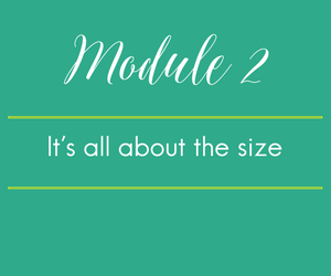 Module 2. It's not the motion in the ocean. It actually is all about size.