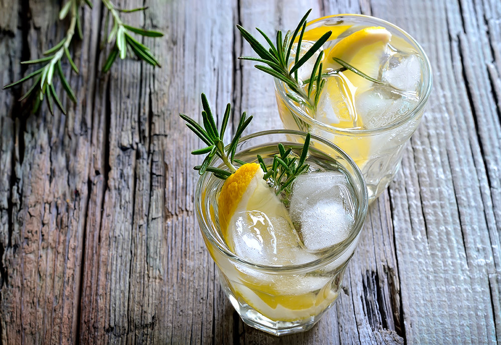 Lemon Rosemary Cocktail