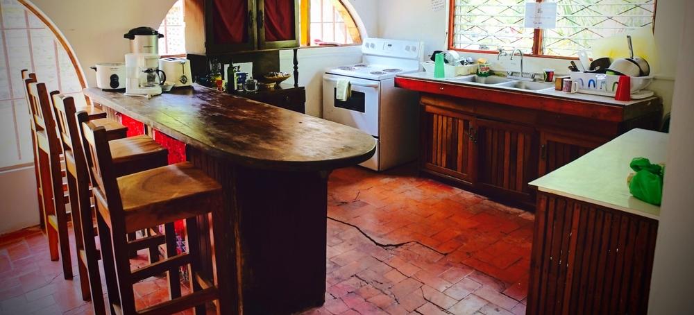 Enjoy the perks of having a full kitchen.