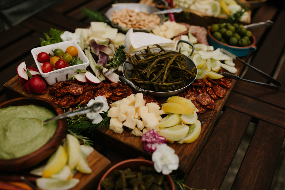 Mingle - Tournant is a celebratory place for guests to gather and enjoy drinks, small bites and conversation.A sumptuous harvest table will be set with seasonal offerings for guests to enjoy throughout the evening as they please.