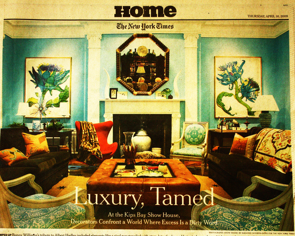 <b>New York Times</b><br/>Luxury Tamed