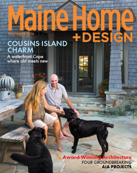 <b>Maine Home + Design</b></br>Cousins Island Cape