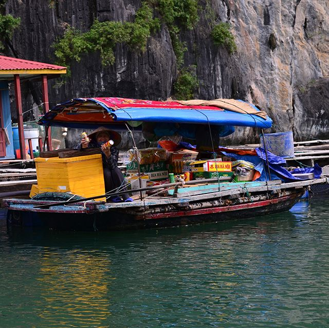 On a boat near Ha Long Bay #wheresivan