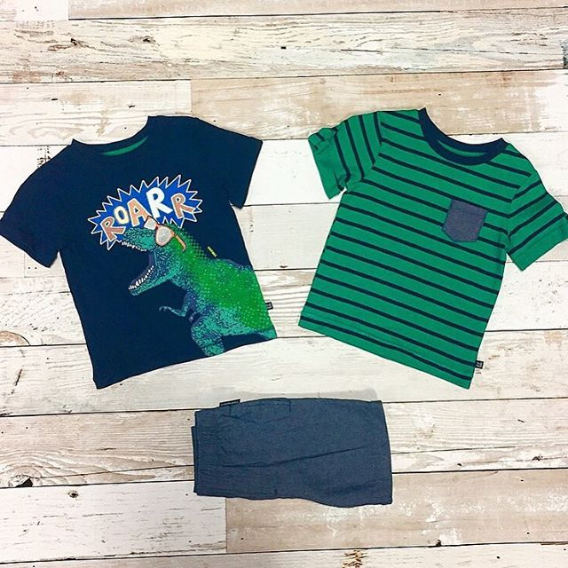 Catch us in these comfy tees all summer long! 🏄 Shop this set on @amazonfashion using our link in bio #CherokeeFeelsGood