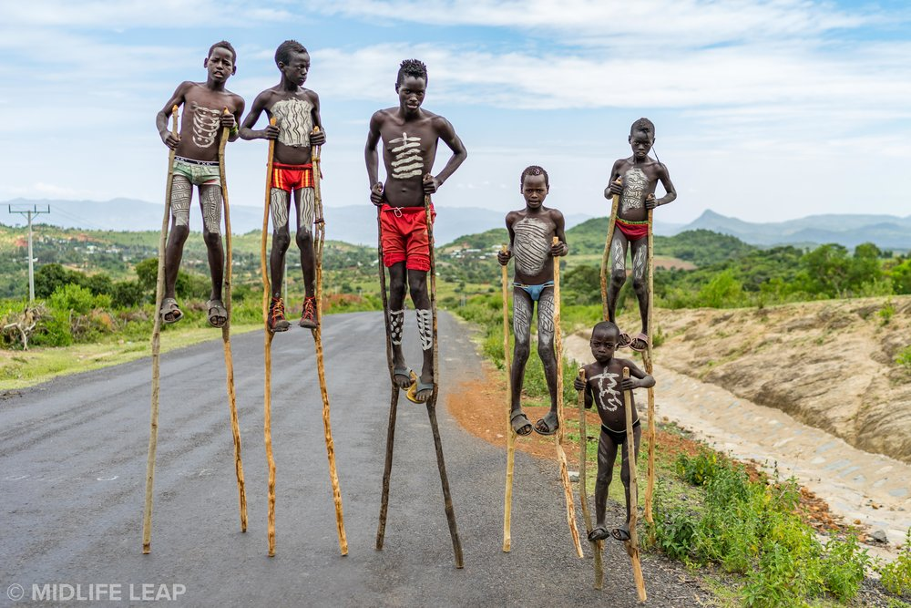 Another Omo Valley Traffic Jam