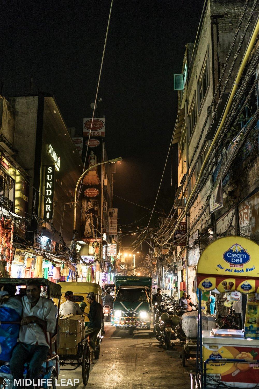 Street near Hotel Ajanta