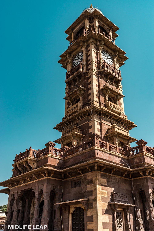 The Clock Tower at Sardar Market