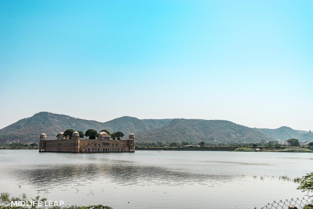 But Jaipur still had its beautiful moments, Jal Mahal