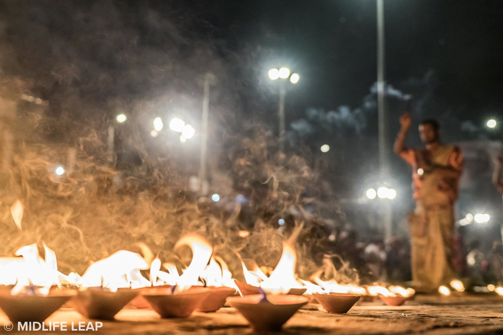 The Ganga Aarti Puja Ceremony