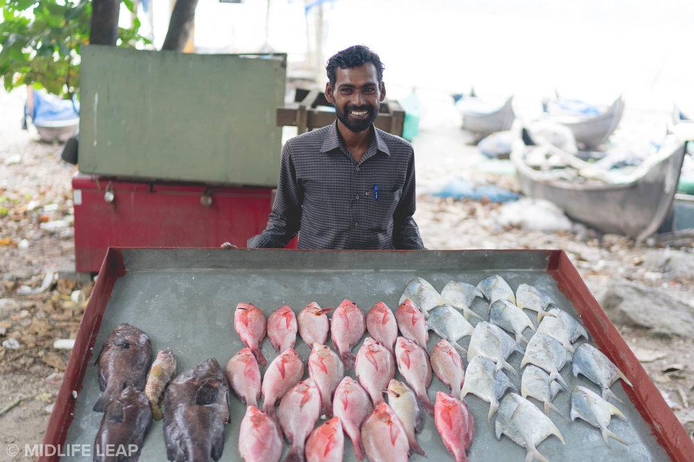 He Sells (Sea)Fish by the Seashore
