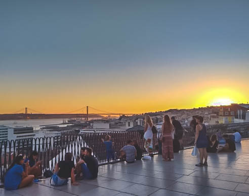 This photo of Miradouro de Santa Catarina is courtesy of TripAdvisor