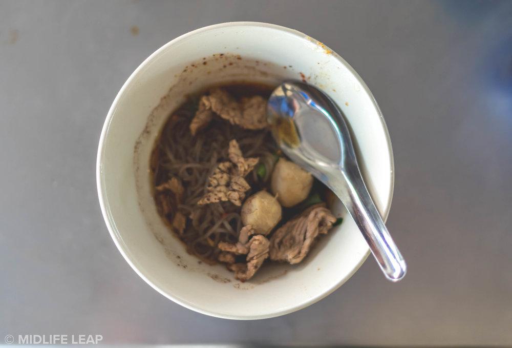Boat Noodles! YUM.