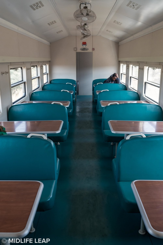 The Dining Cart on Tazara Train
