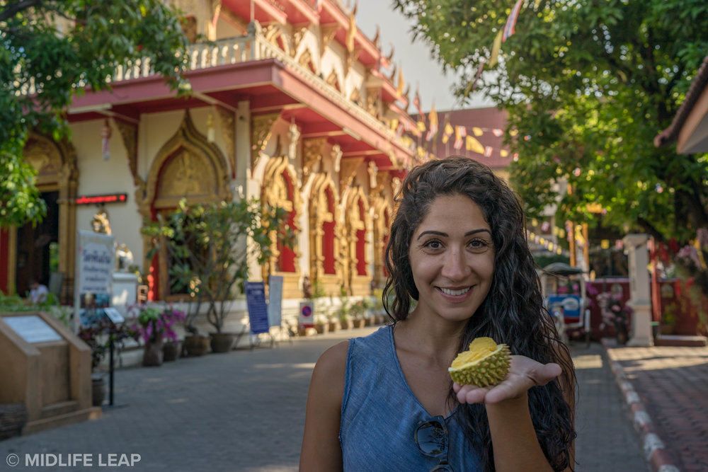 The cutest little Durian there ever was