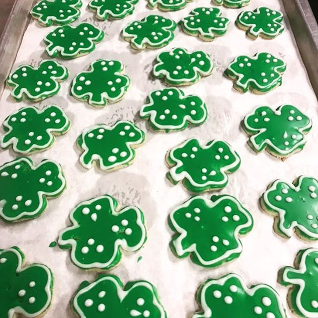 If anyone wants to brave their way to midtown on the holiday ☘️ @chefcharliepalmer