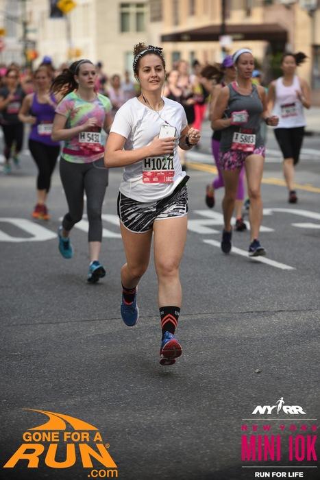 NY All Women's Mini 10k Results  : 0:55:27   Pace Per Mile  : 08:56