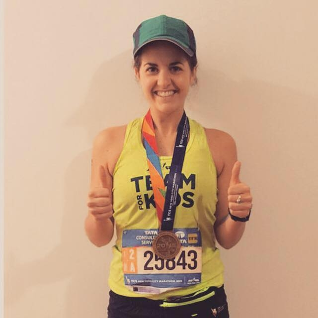TCS NYC Marathon Results  : 04:36:15    Pace Per Mile  : 10:33
