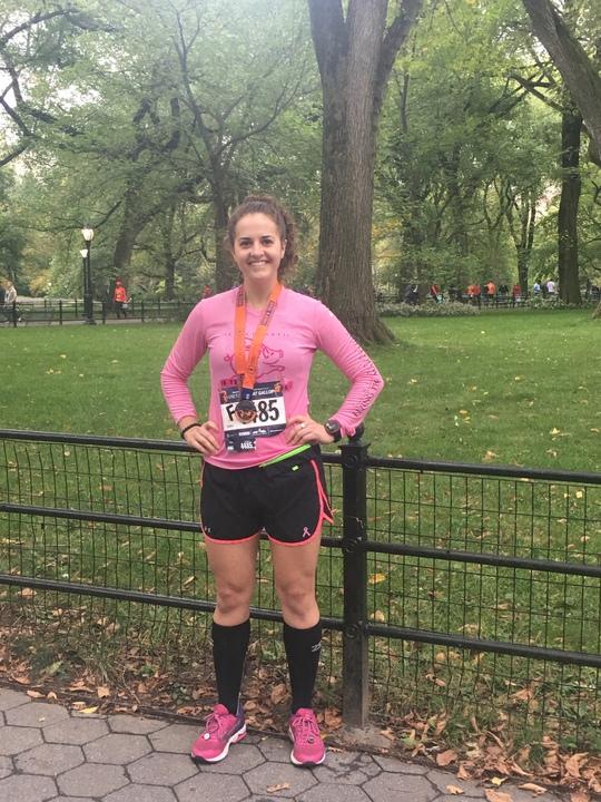 Grete's Great Gallop (13.1M) Results  :   1:59:06   Pace Per Mile  : 09:06