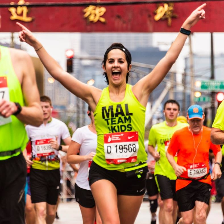 Hello everyone. I'm Mal. - Thrilled to share my running journey and to have you along for the ride. 27. Runner. Marathoner. Team For Kids member.Native Kentuckian, now New Yorker.Brooklynite to be specific. Dog mom to Bruiser. Energetic spirit. Pisces. Vegan. Black coffee addict. Mizuno shoe hoarder.Garmin watch enthusiast.Believer that fall should be the only season.Halloween is a serious holiday at my house.Fighting for beer at every finish line.