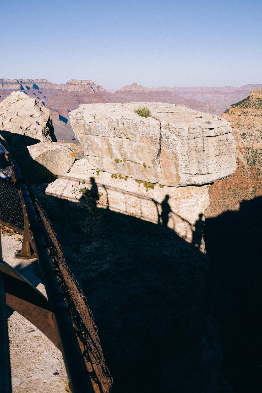 Shadows at Grand Canyon