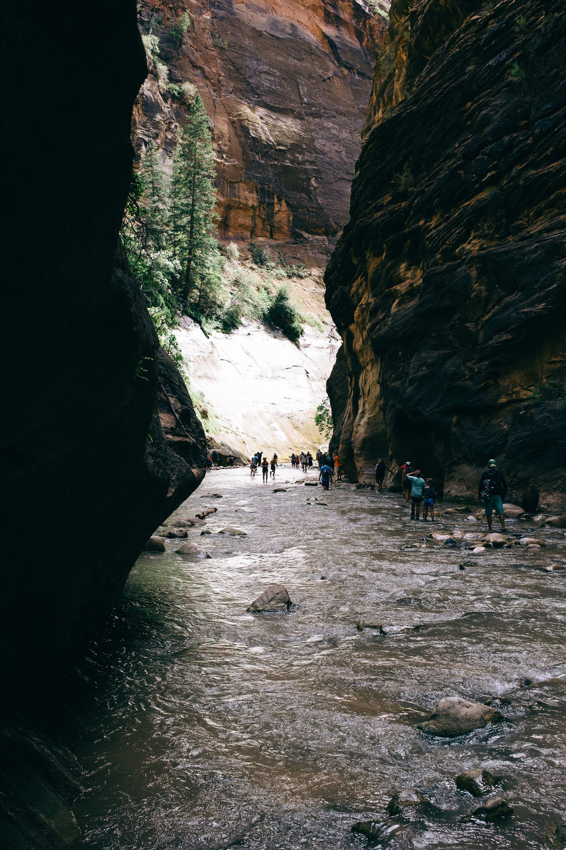 Narrows river hike