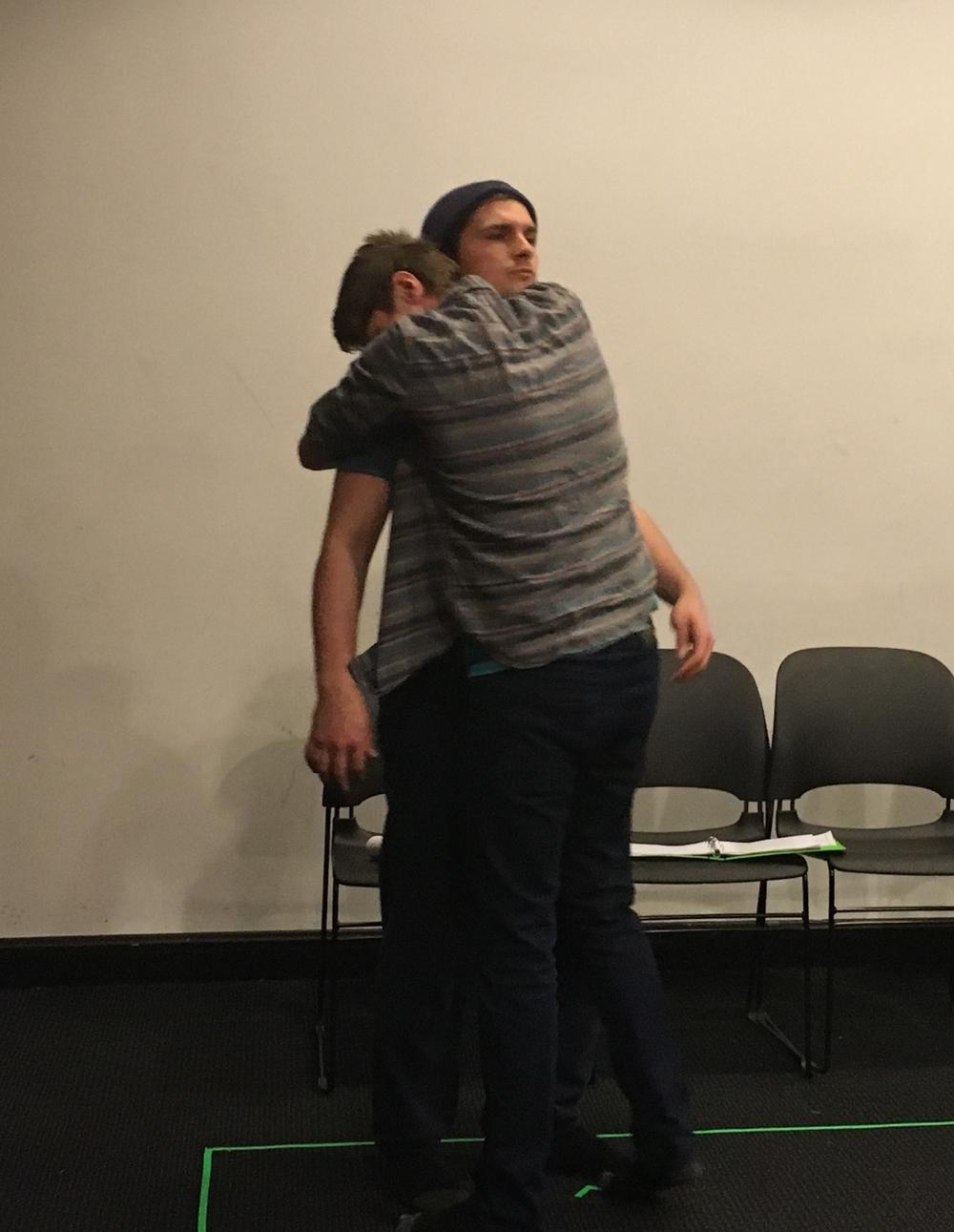 Brandon Nelson and Jacob Huddilston  as CARL and THE THIRD MAN