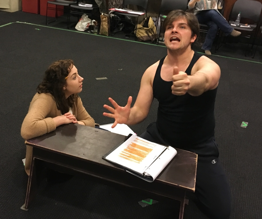Gillian Mueller and Jacob Huddilston as ANNA and LITTLE DUTCH BOY