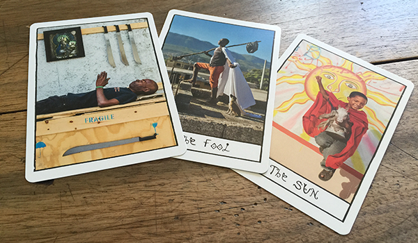 Deck:  Ghetto Tarot by Alice Smeets