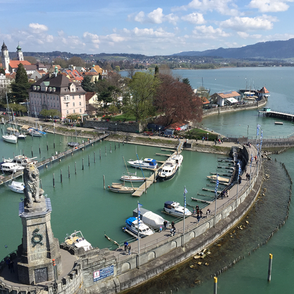 Lindau, Germany from the  Lichtturm