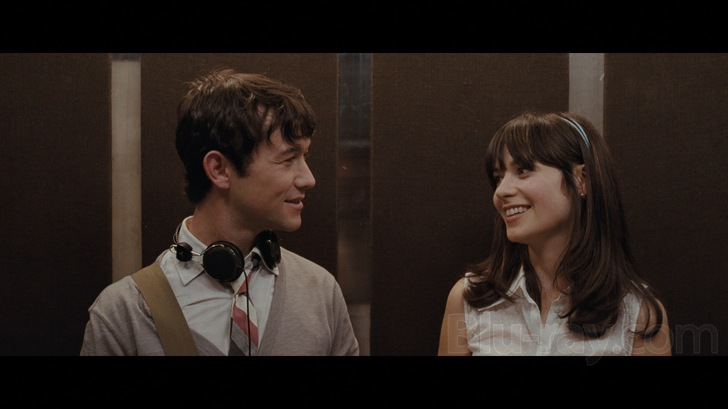 Zooey Deschanel & Joseph Gordon-Levitt (5/8/09)