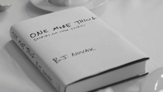<i>One More Thing</i> by B.J. Novak (7/22/14)