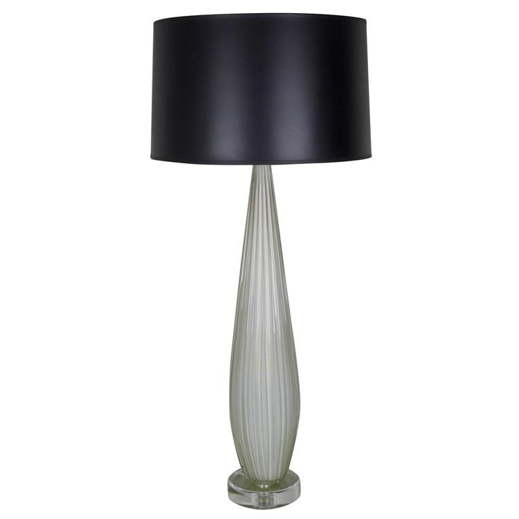 Opaline murano table lamp 145 antiques opaline murano table lamp aloadofball Gallery