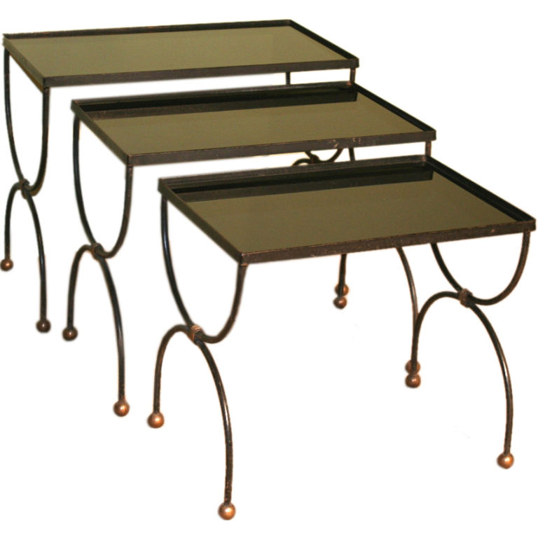 Mid Century French Nesting Tables