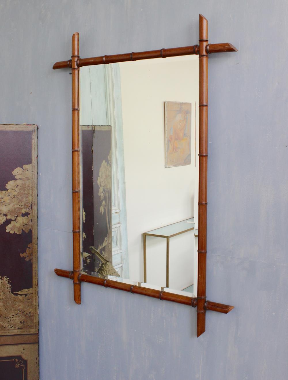 french bamboo mirror - Bamboo Mirror