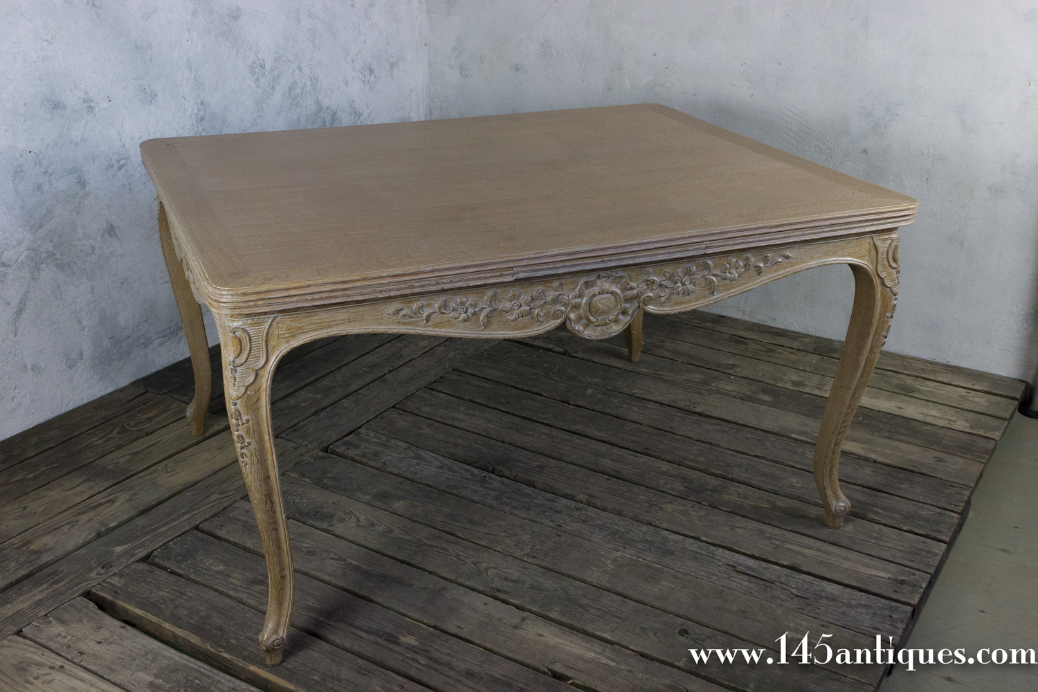 Ordinaire French Limed Oak Dining Table