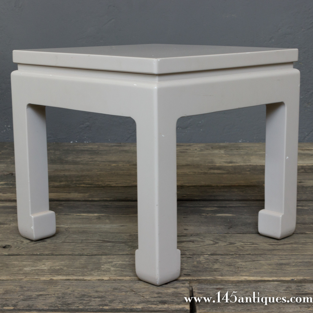 Chinese Mid Century Modern End Tables