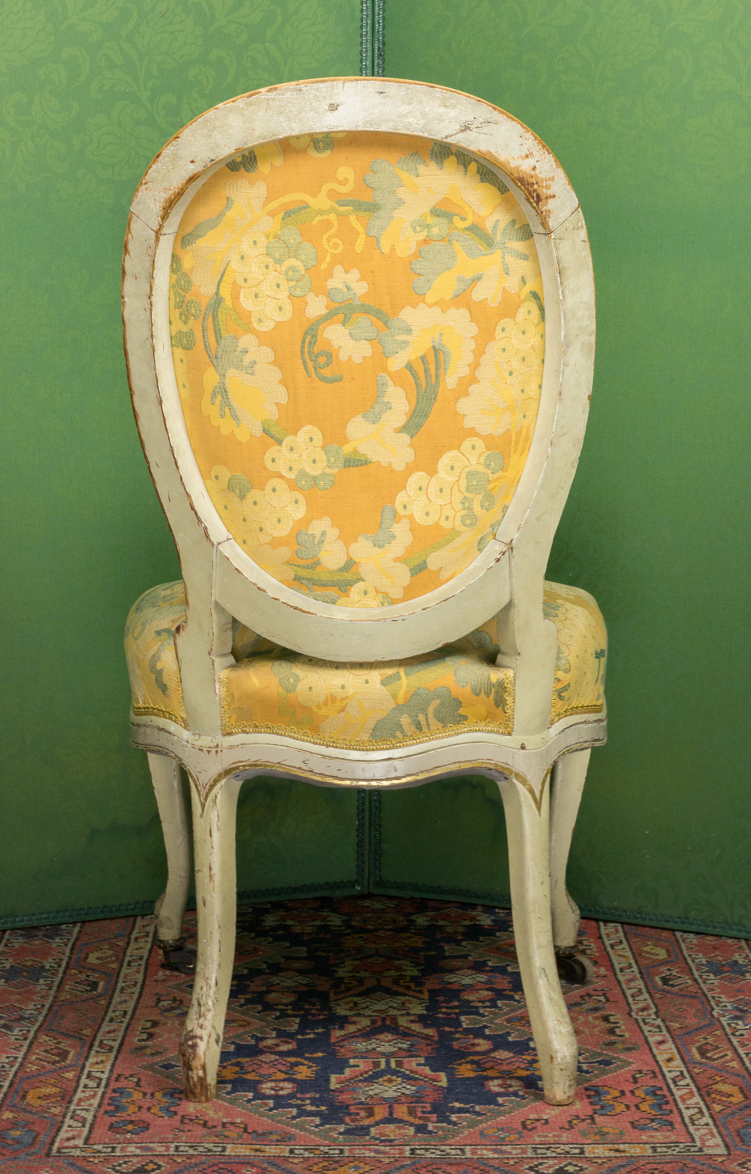 Pair Of French Louis XV Style Side Chairs