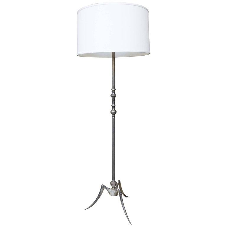 1950u0027s French Mid Century Modern Floor Lamp