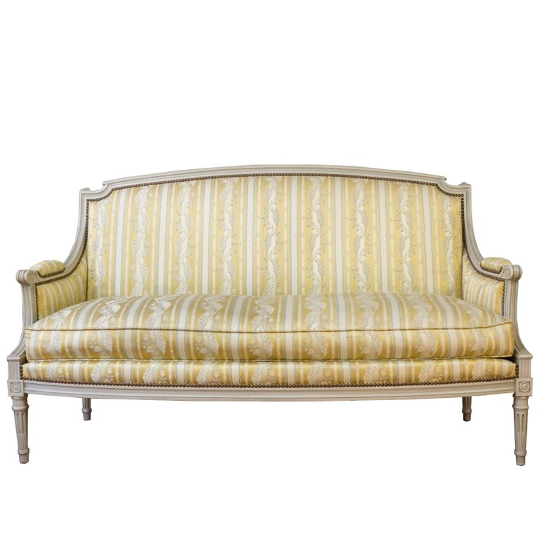 French Louis XVI Style Sofa