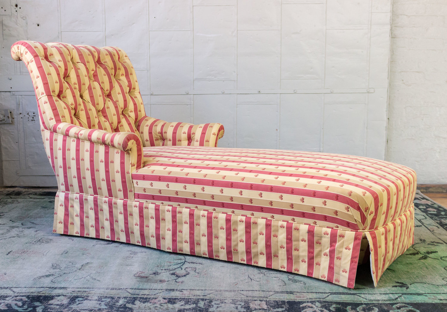 Patterned Chaise Lounge Cool Design Inspiration