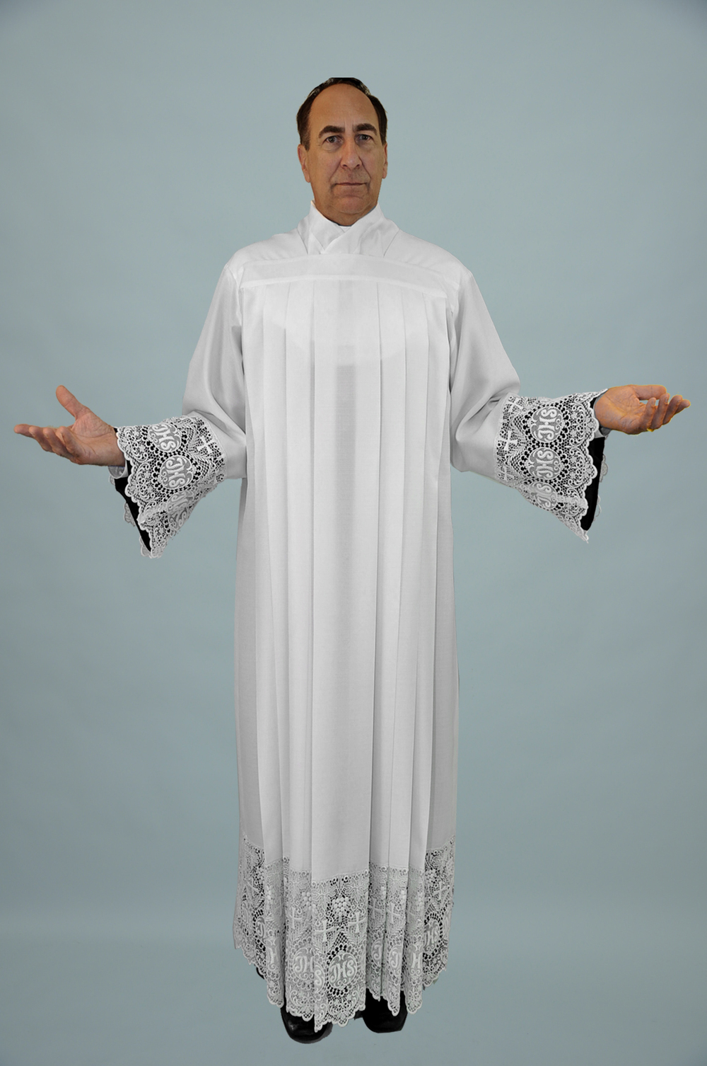 Vatican Style alb W 703 704 IHS Lace.jpg