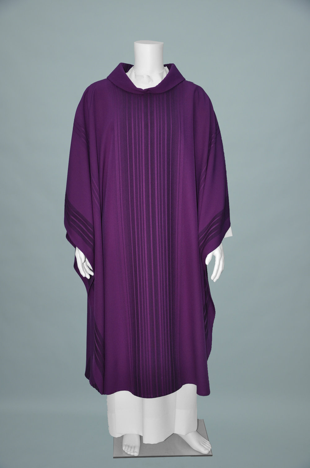 MONE PURPLE CHASUBLE & STOLE (F) 1