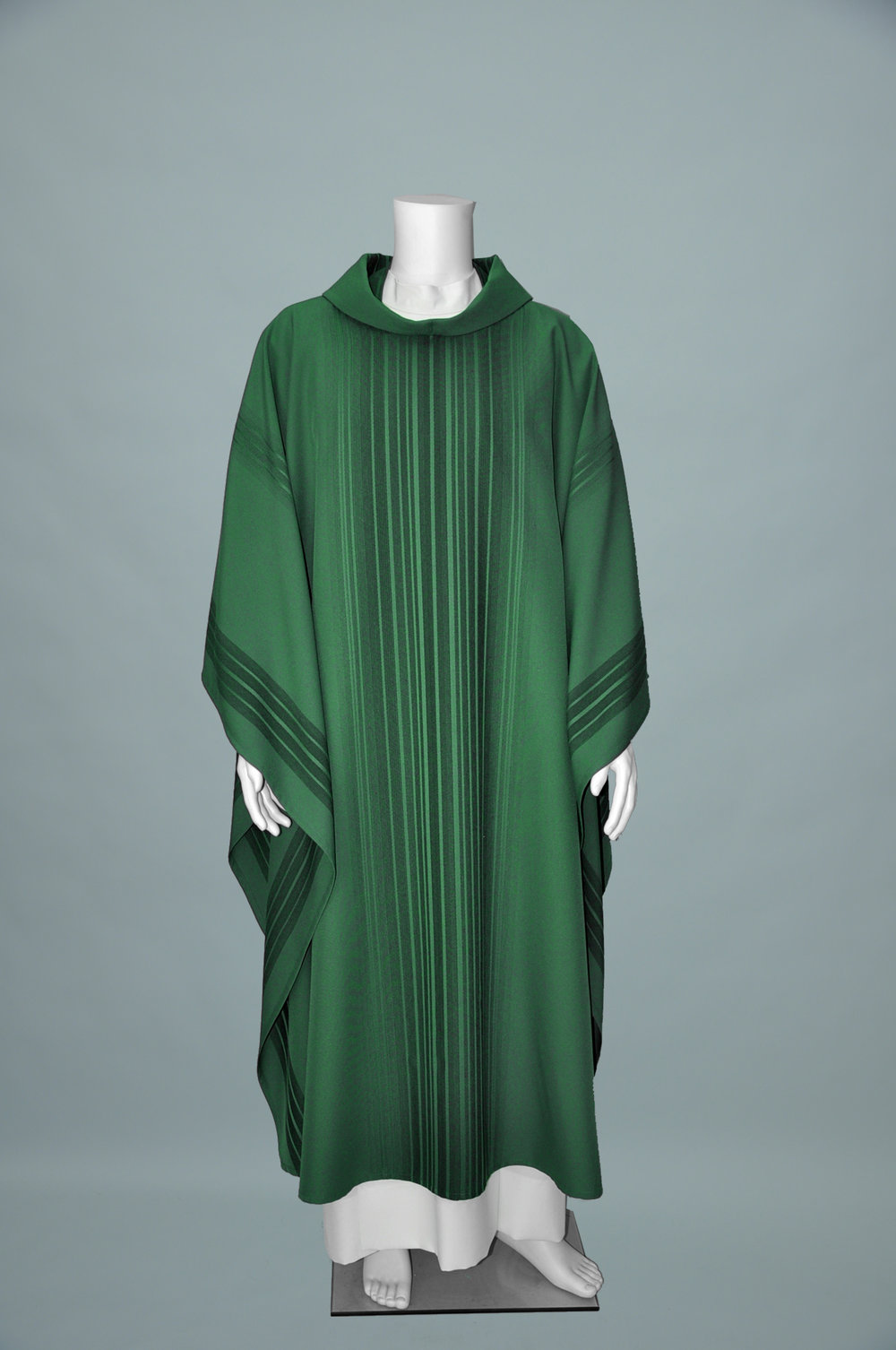Mone Chasuble & Stole Green (F) 1