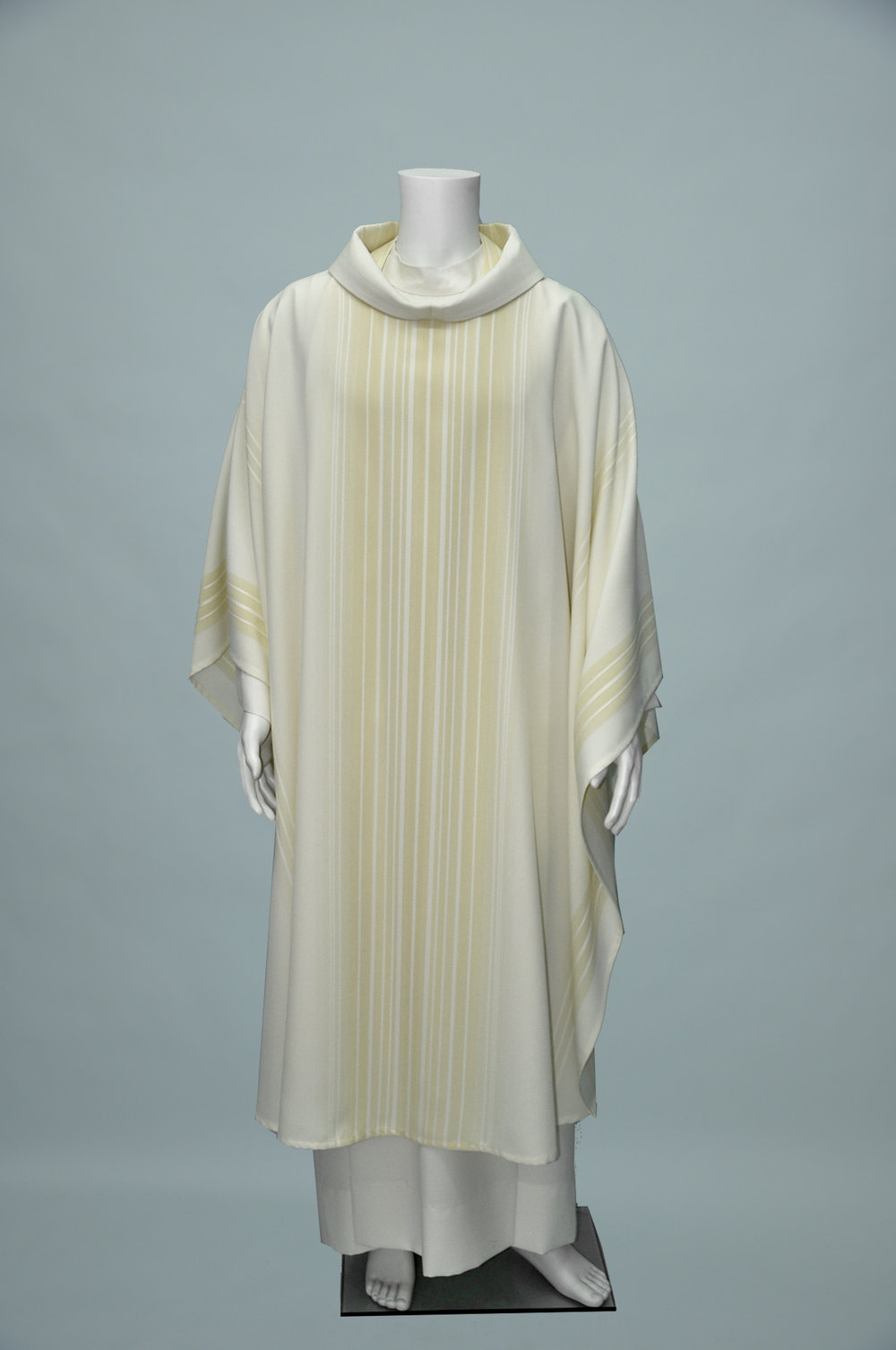 Mone Chasuble & Stole White Bone (f) 1.jpg