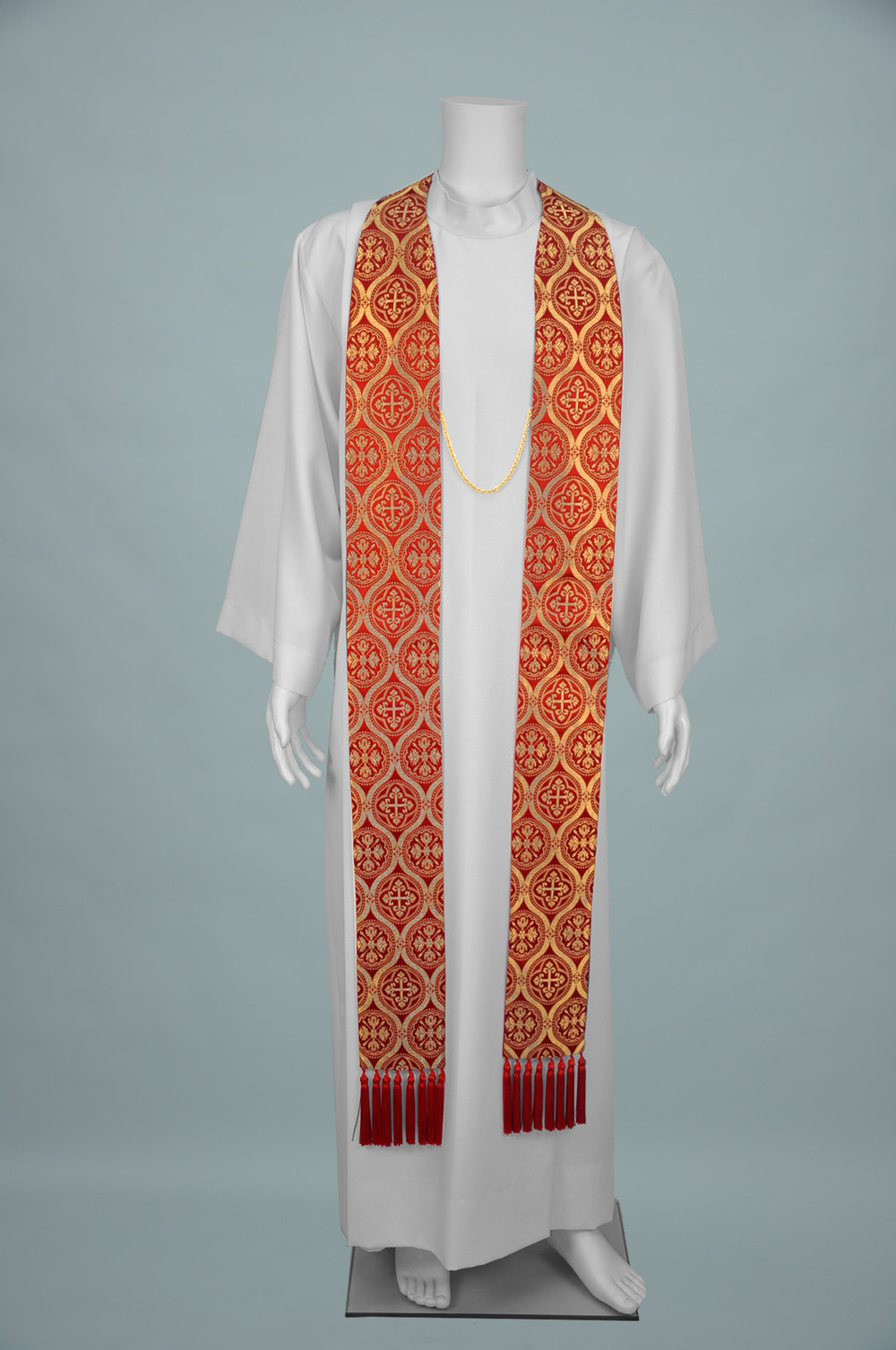 Priest Stole Nu-Gregory Red gold 1.jpg
