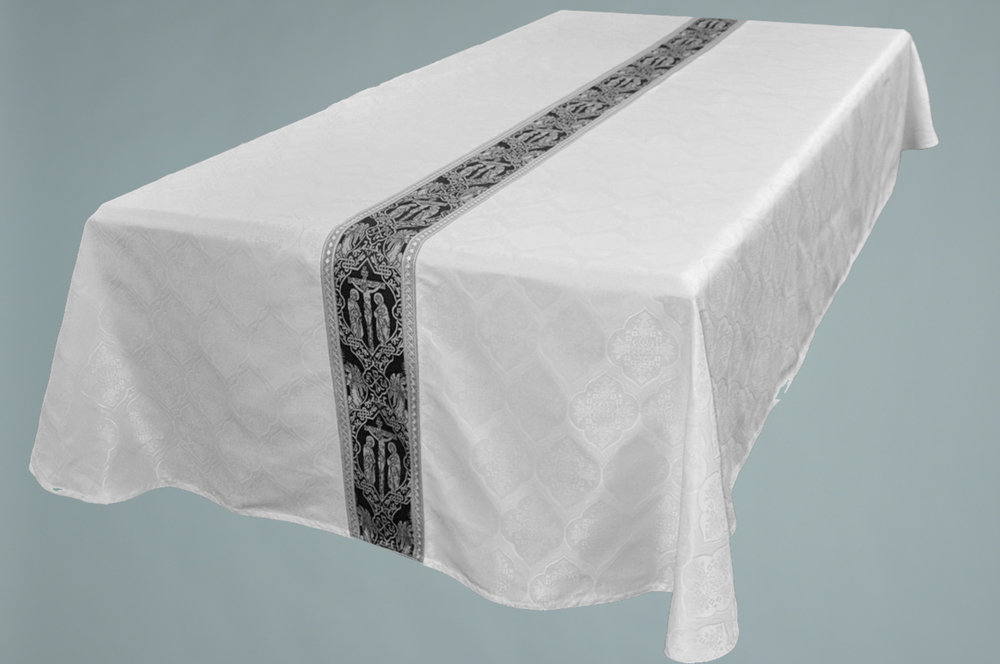 Funeral Pall White #6592 W Crucifixion Black Silver & 2326 Silver.jpg