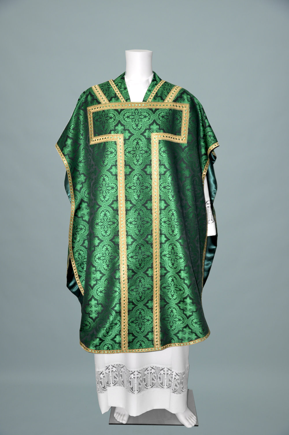 St Philip Neri Davinci Green W 2326 Green gold (f)1.jpg